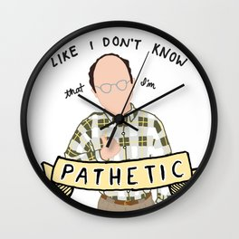 Costanza Wall Clock