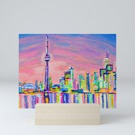 Toronto Skyline Mini Art Print