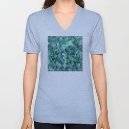Flower | Flowers | Sedum Dot Graphic Unisex V-Neck