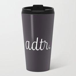 ADTR Simple Script Travel Mug