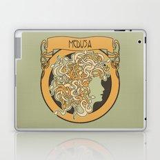 medusa silhouette (light) Laptop & iPad Skin