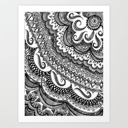 Blackbook No. 3  Art Print