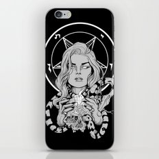 Black Mass Ritual iPhone & iPod Skin