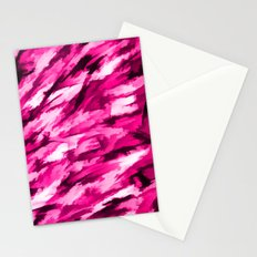 Designer Camo in Hot Pink Stationery Cards
