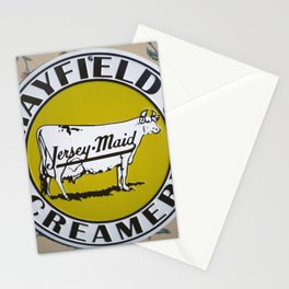 Ice Cream Sign Stationery Cards