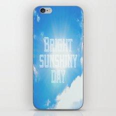 Bright Sunshiny day  iPhone & iPod Skin