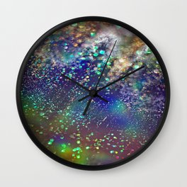 Dazzling lights VI Wall Clock