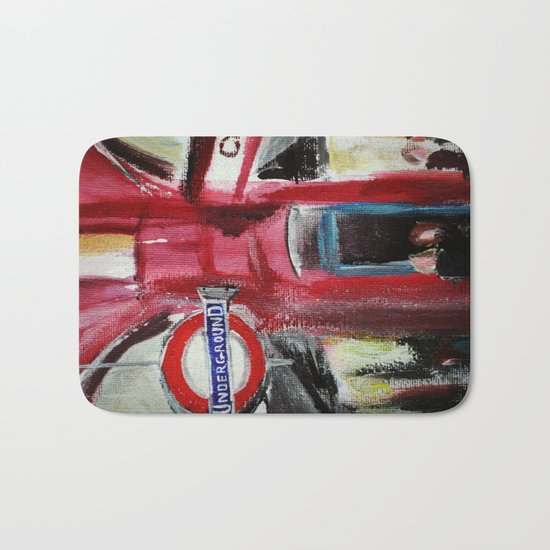London Underground Covent Garden Bath Mat