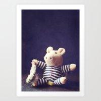 hug Art Prints featuring Hug by Sybille Sterk