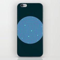 Sphere Blue iPhone & iPod Skin