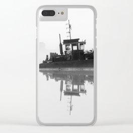 Moxy Tug Clear iPhone Case