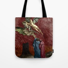 Dante and the Erinyes Tote Bag