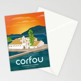 Corfu, Vlacherna Monastery (GR) Stationery Cards