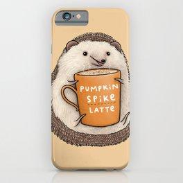 Pumpkin Spike Latte iPhone Case