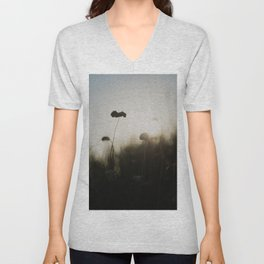 silhouetted ... Unisex V-Neck