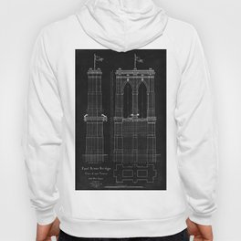 Brooklyn Bridge Blueprint Hoody