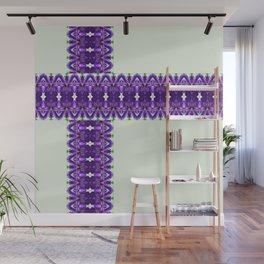 Purple Present Wall Mural
