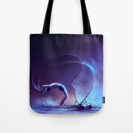 We are dancing in our chains Tote Bag