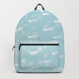 Merry Christmas-Festive Falling Stars X-Mas Pattern Backpack