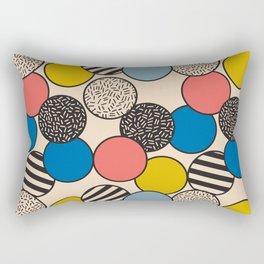 Memphis Inspired Pattern 5 Rectangular Pillow