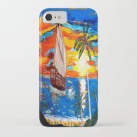 pirates iPhone & iPod Cases featuring PIRATES by Aat Kuijpers