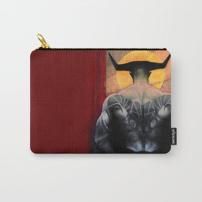 Aries Iron Bull Zodiac Tarot Card Dragon Age Inquisition Carry All Pouch