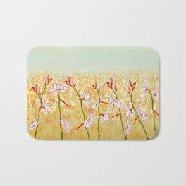 Field Of Lilies Bath Mat