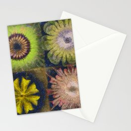 Methylator Structure Flowers  ID:16165-011604-36970 Stationery Cards