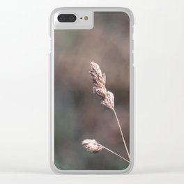 Blade of Grass Clear iPhone Case