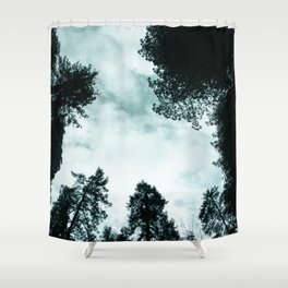 Redwood Forest Adventure - Nature Photography Shower Curtain