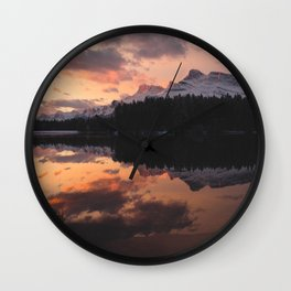 Mount Rundle Wall Clock