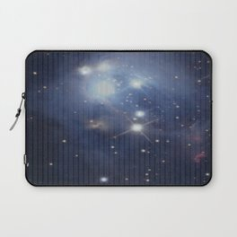 Numbers and Stars Laptop Sleeve