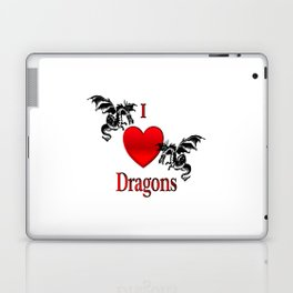I Heart Dragons Laptop & iPad Skin