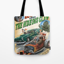 Hot Rod Robot versus the Hideous Claw Tote Bag