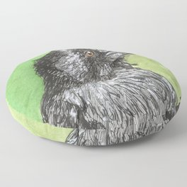 Majestic Raven Floor Pillow