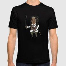 Michonne Black MEDIUM Mens Fitted Tee