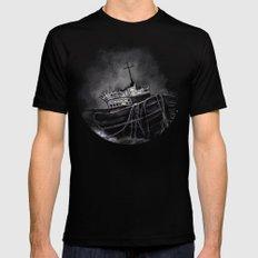 Dark Voyage Mens Fitted Tee Black X-LARGE