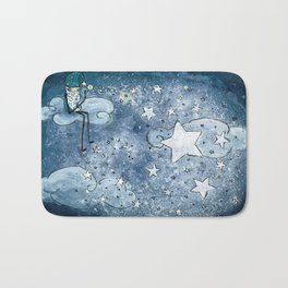 Old Man Starmaker Bath Mat