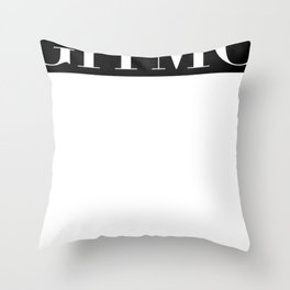 gitmo 2 Throw Pillow
