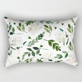 Magnolia Tree Rectangular Pillow