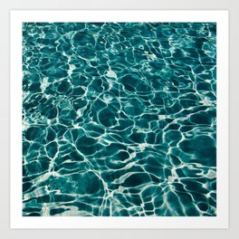 Water Pool Art Print