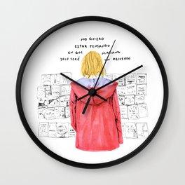 Recuerdo - Luca Bocci Wall Clock