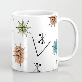Mid Century Modern Sputnik Starburst Planets 1 Coffee Mug