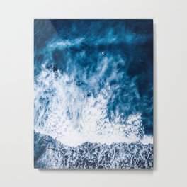 Ocean Between Our Love Metal Print