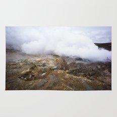 geothermal steam Rug