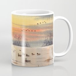 A Great Day For Hunting Ducks Coffee Mug
