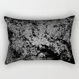 Baltimore map Maryland Rectangular Pillow