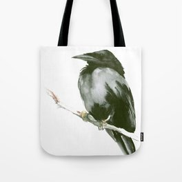 RAVEN on the tree Tote Bag