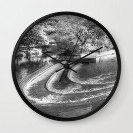 Pulteney Weir Bath Wall Clock