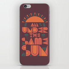 All Under the Same Sun iPhone & iPod Skin